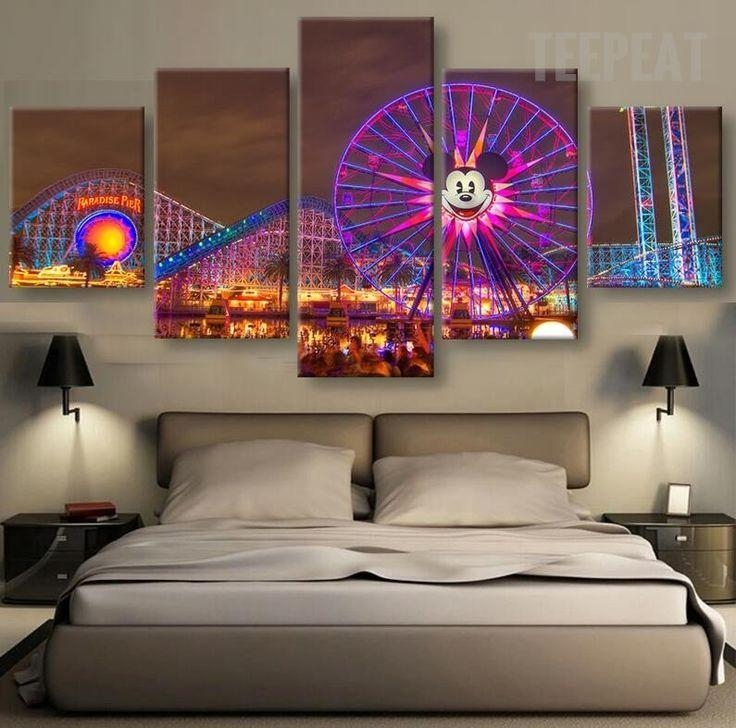 33 Best Disney Canvas Prints Images On Pinterest | Painting Canvas With Regard To Disney Canvas Wall Art (Image 4 of 20)