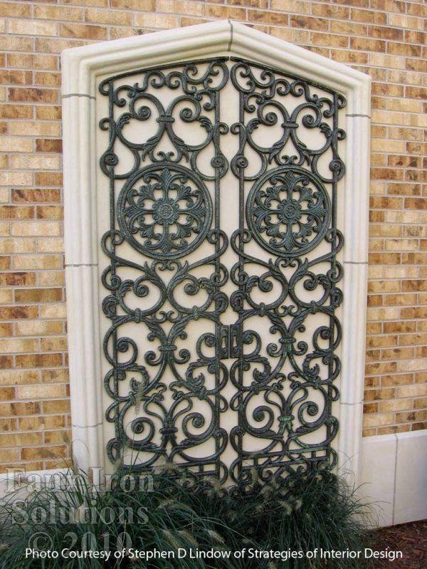 33 Best Faux Iron Images On Pinterest | Wrought Iron, Irons And In Faux Wrought Iron Wall Art (Image 3 of 20)