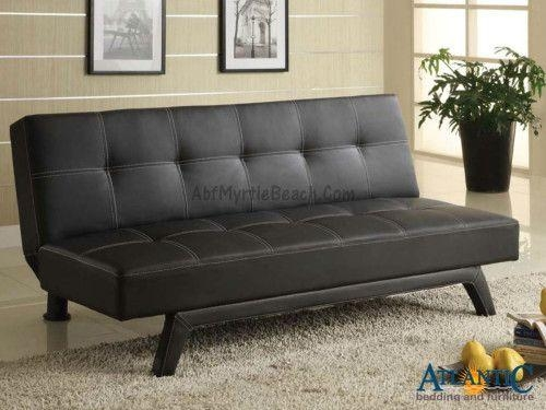 33 Best Futons, Klick Klacks And Sofa Beds Images On Pinterest | 3 Inside Small Black Futon Sofa Beds (Image 2 of 20)
