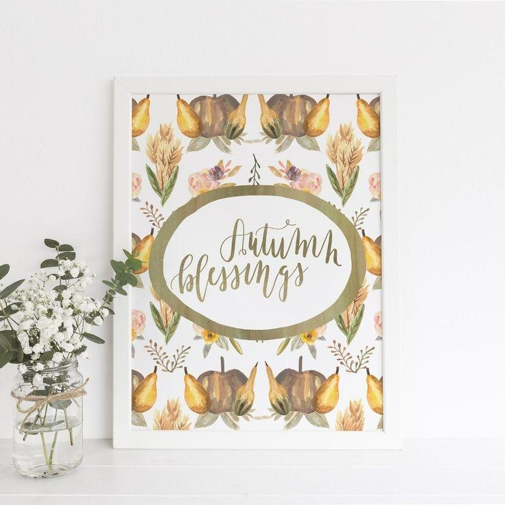 335 Best Autumn Prints Images On Pinterest | Autumn Prints, Wall In Autumn Inspired Wall Art (View 18 of 20)