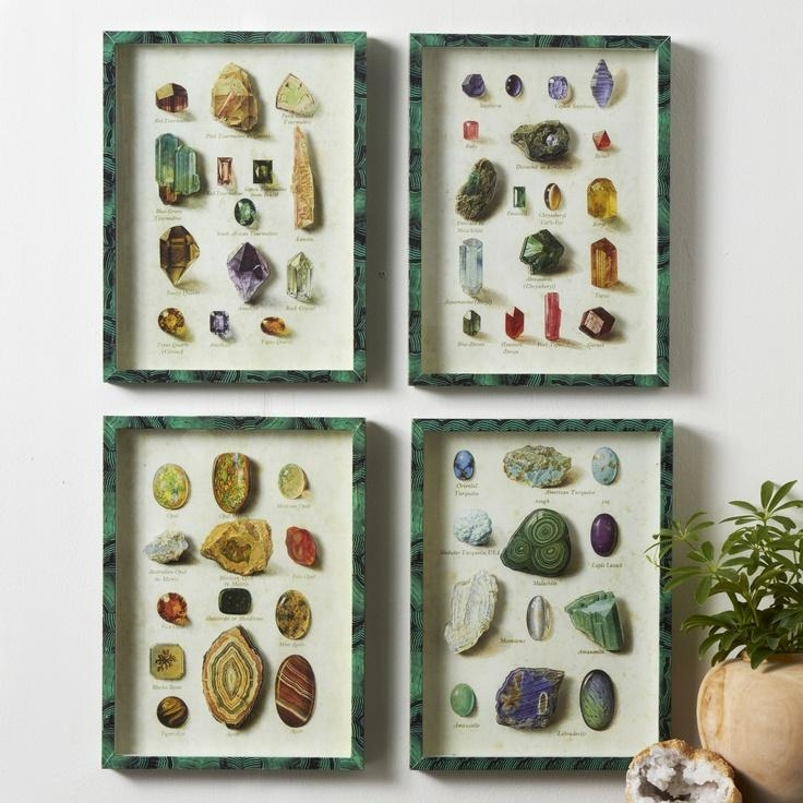 Featured Image of Gemstone Wall Art