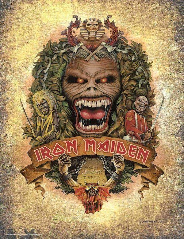 34 Best Iron Maiden Images On Pinterest | Iron Maiden, Irons And For Art Prints To Hang On Your Wall (View 10 of 20)