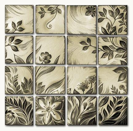 34 Best Natalie Blake Studios Images On Pinterest | Handmade Within Ceramic Tile Wall Art (Image 2 of 20)