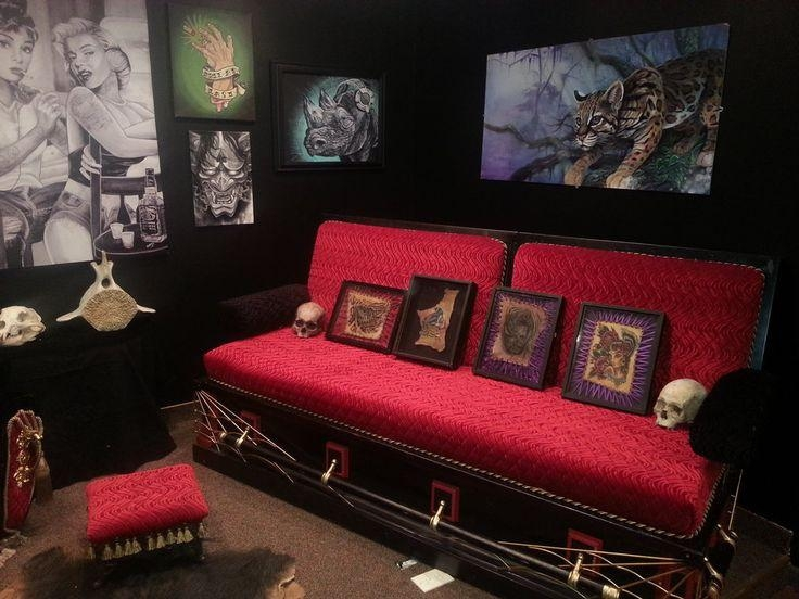 35 Best Coffin Crap Images On Pinterest | Gothic Furniture, Casket Intended For Coffin Sofas (Image 6 of 20)