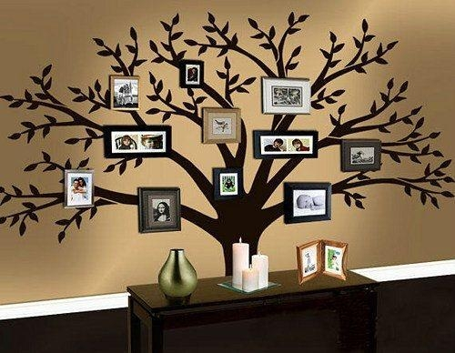 35 Family Tree Wall Art Ideas – Listinspired Pertaining To Vinyl Wall Art Tree (View 4 of 20)