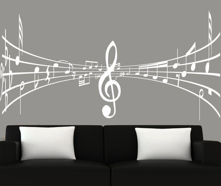 3550 Best Müzik Images On Pinterest | Music, Music Notes And Pertaining To Music Note Art For Walls (View 16 of 20)