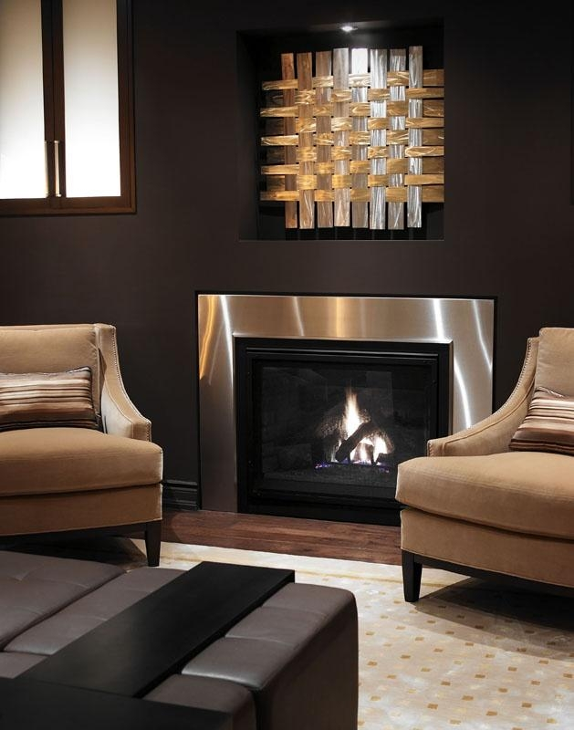 356 Best Contemporary Fireplaces Images On Pinterest | Fireplace With Fireplace Wall Art (Image 3 of 20)