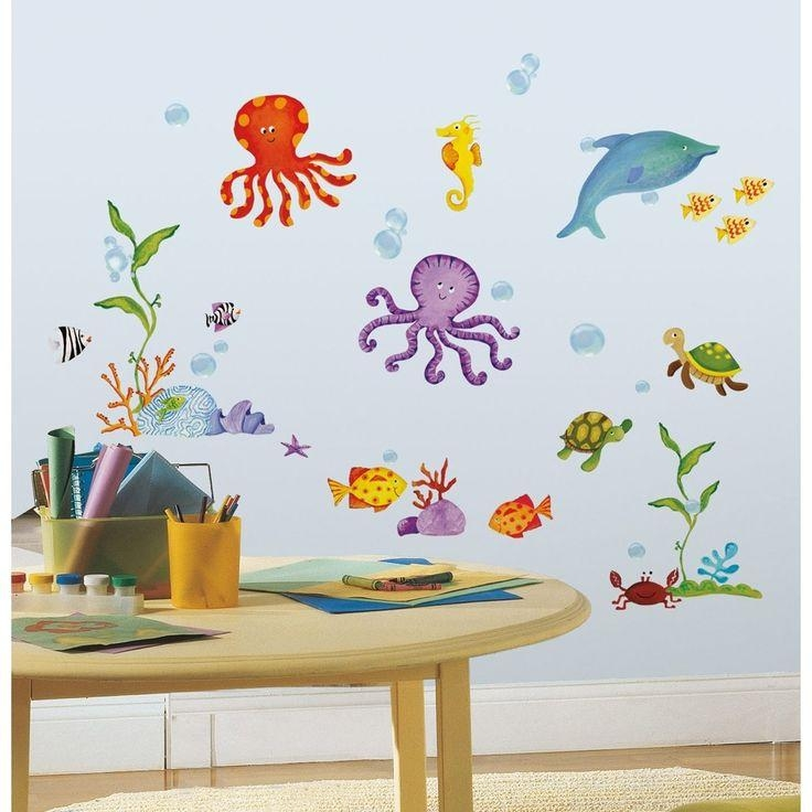 36 Best Bathroom For Kids Images On Pinterest | Bathroom Ideas With Regard To Fish Decals For Bathroom (Image 5 of 20)