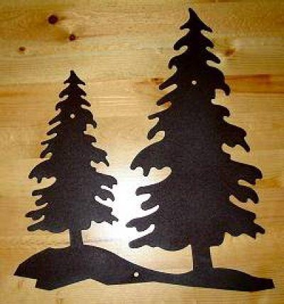 367 Best Indoor Decorating Images On Pinterest | Home, Bunk Bed In Pine Tree Metal Wall Art (View 9 of 20)