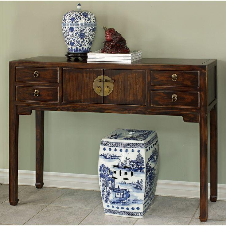 38 Best Asian Console Tables And Sofa Tables Images On Pinterest In Asian Sofa Tables (Image 1 of 20)