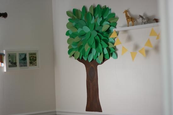 3D Wall Art For Toddler's Room – Eliza Domestica In 3D Tree Wall Art (View 14 of 20)
