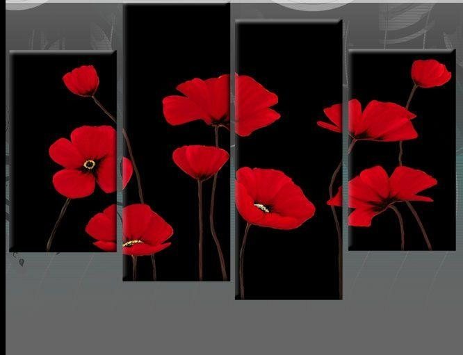 40 Best Canvas Art Images On Pinterest | Canvas Art, Canvas Walls Throughout Red Poppy Canvas Wall Art (Image 1 of 20)