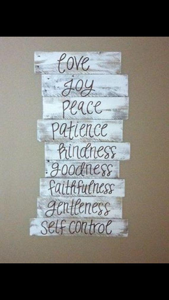 40 Best Fruits Of The Spirit Images On Pinterest | Fruit Of The For Fruit Of The Spirit Wall Art (Image 3 of 20)