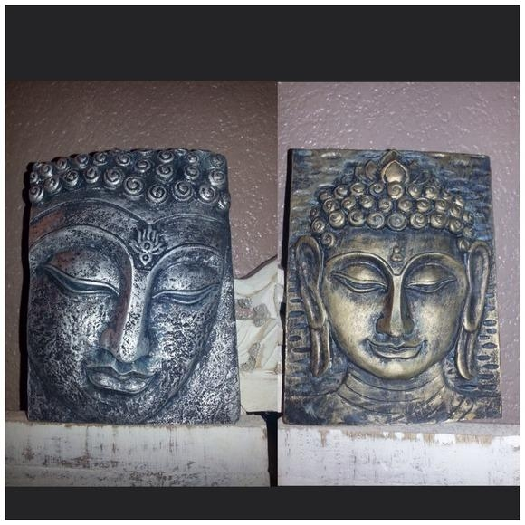 40% Off Jewelry – Buddha Indian Wall Plaques Hanging Silver Inside Silver Buddha Wall Art (View 16 of 20)