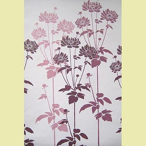 41 Best For The Home Images On Pinterest | Wall Stenciling, Flower With Regard To Space Stencils For Walls (Image 4 of 20)