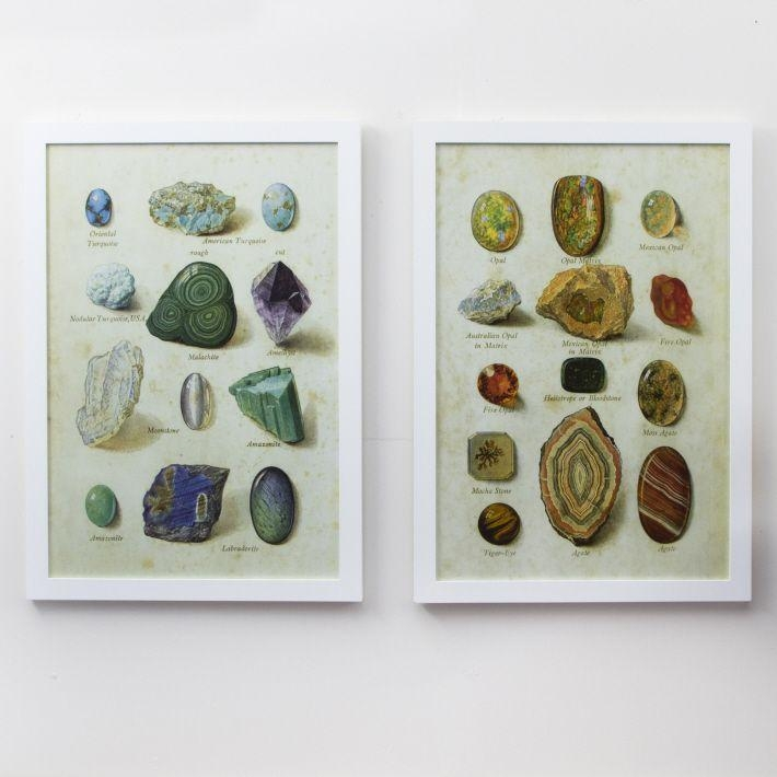 43 Best Dransfield & Ross For Tozai Home Images On Pinterest Pertaining To Gemstone Wall Art (Image 5 of 20)