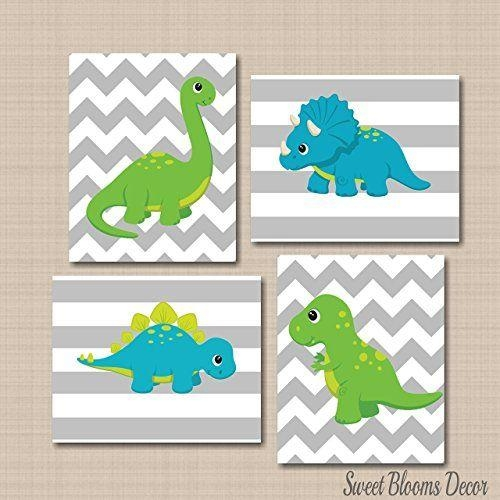 433 Best Canvas Art Images On Pinterest | Superhero Party, Clip Intended For Dinosaur Canvas Wall Art (View 8 of 20)
