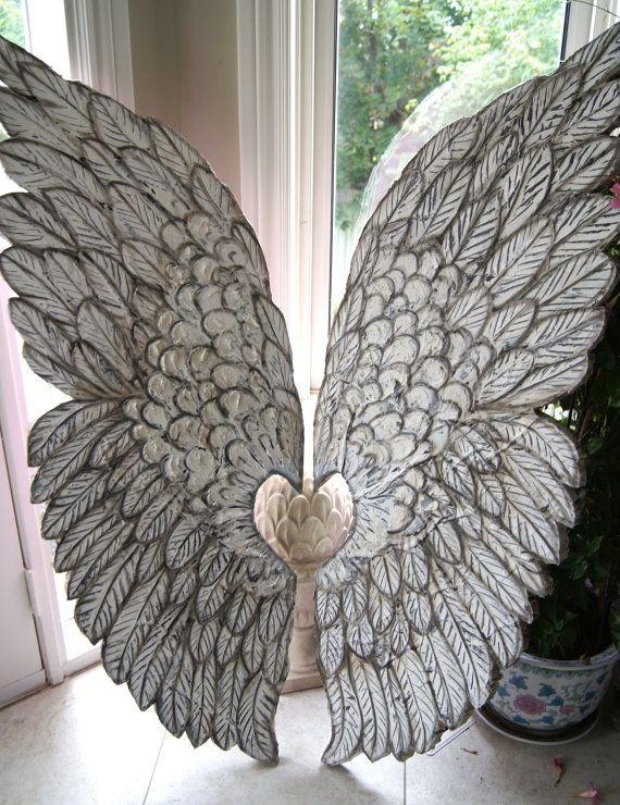 440 Best Angels Images On Pinterest | Angels Among Us, Angel Wings Inside Angel Wings Wall Art (Image 1 of 20)
