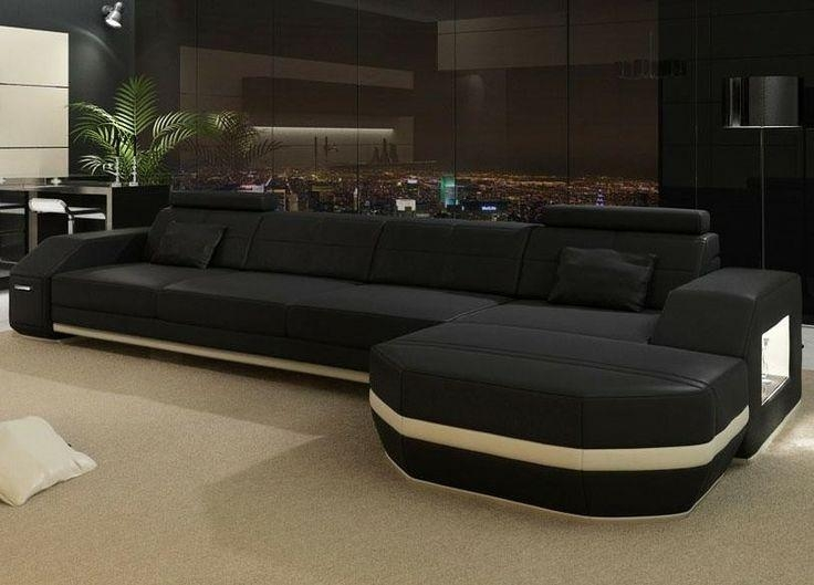 457 Best Sectional Sofa Set Images On Pinterest | Leather For Black Modern Sectional Sofas (Image 2 of 20)