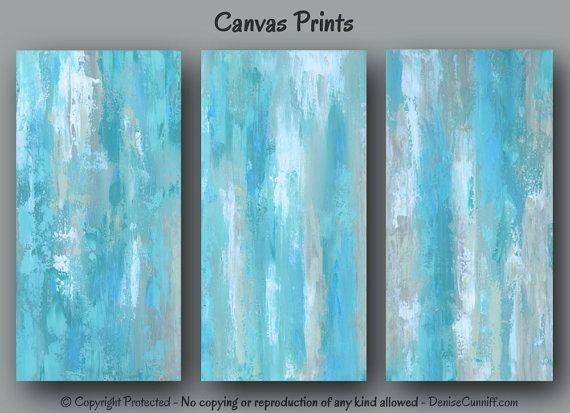 458 Best Canvas Wall Art Images On Pinterest | Couple Painting Regarding Blue Wall Art (Image 1 of 20)