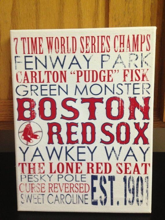 461 Best I Love Red Sox Images On Pinterest | Boston Red Sox Throughout Boston Red Sox Wall Art (View 20 of 20)