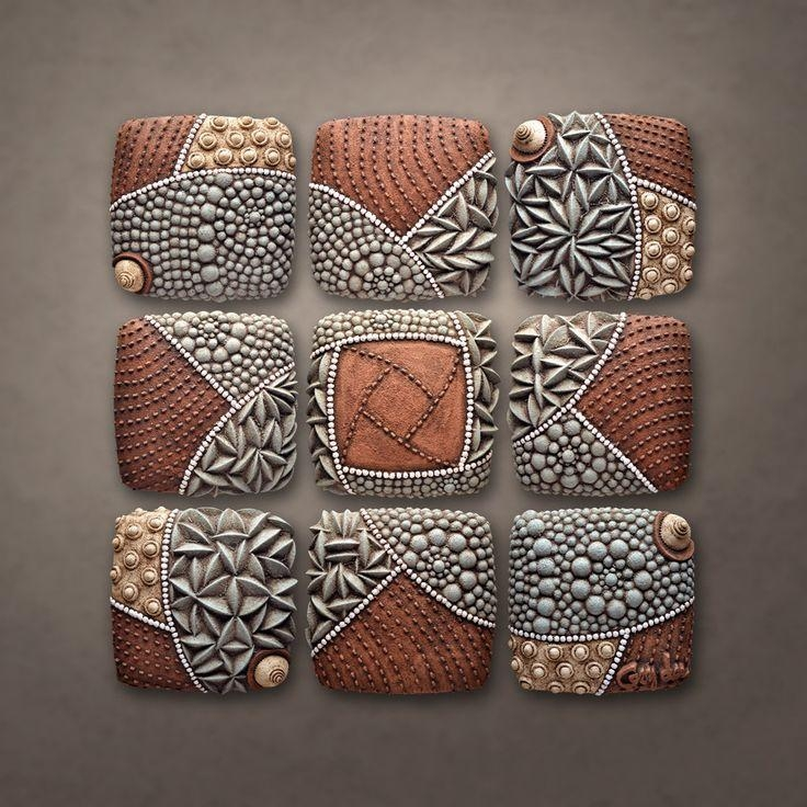 464 Best Ceramic Wall Art Images On Pinterest | Sculptures Pertaining To Large Ceramic Wall Art (Image 3 of 20)