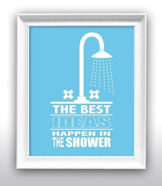 47 Best Bathroom Decor Images On Pinterest | Bathroom Artwork Within Shower Room Wall Art (Photo 3 of 20)