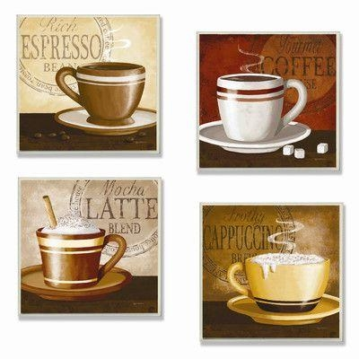 47 Best Coffee Wall Art Images On Pinterest | Coffee Wall Art Inside Cafe Latte Kitchen Wall Art (Image 2 of 20)