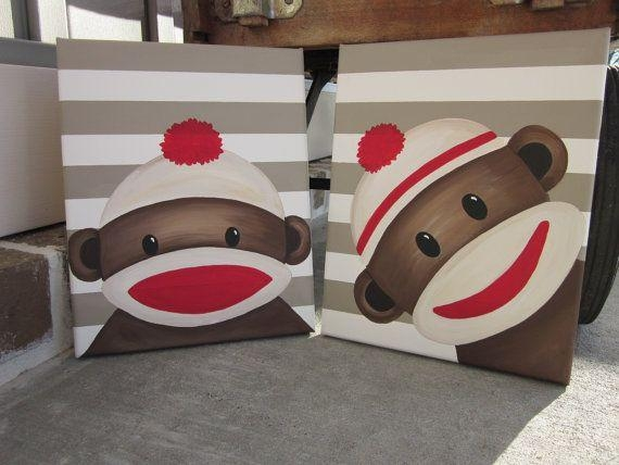 47 Best Sock Monkey Images On Pinterest | Sock Monkeys, Sock With Regard To Sock Monkey Wall Art (View 2 of 20)