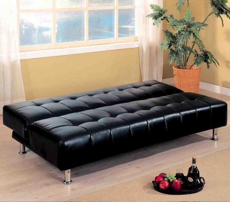 48 Best Best Futon Sofa Bed Images On Pinterest | Futon Sofa Bed Pertaining To Leather Fouton Sofas (Image 1 of 20)