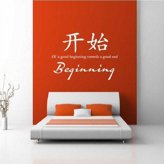 48 Best Chinese Proverb Wall Stickers Images On Pinterest Inside Chinese Symbol For Inner Strength Wall Art (Image 7 of 20)