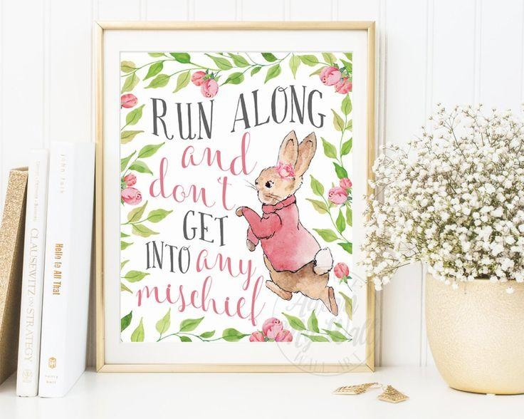 48 Best Peter Rabbit Nursery Images On Pinterest | Peter Rabbit Within Peter Rabbit Wall Art (Image 1 of 20)