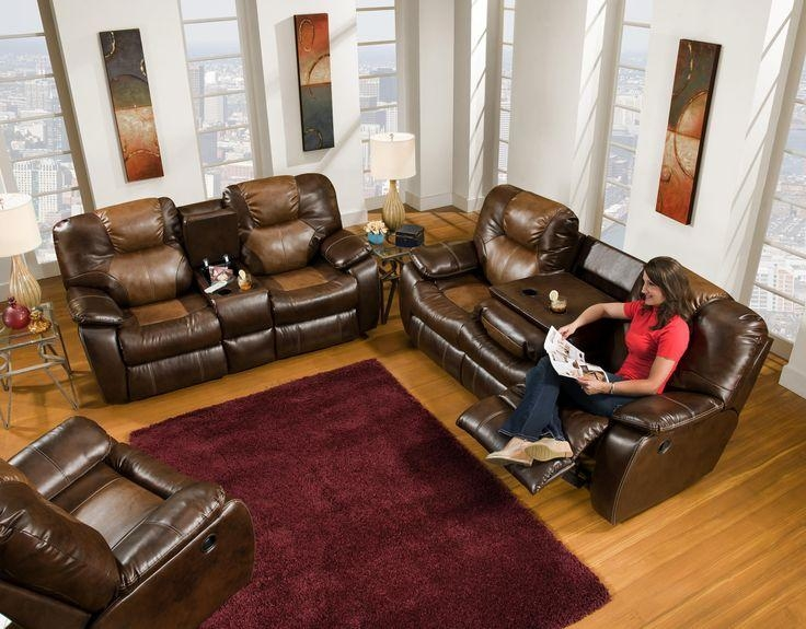 48 Best Power Recliner Sofas Images On Pinterest | Recliners In Sofas With Console (Image 2 of 20)