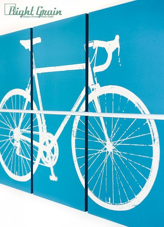 48 Best Rightgraindecor Images On Pinterest | Studio Art, Art Pertaining To Cycling Wall Art (Image 2 of 20)