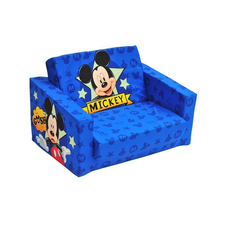 50 Best Mickey Mouse Clubhouse Toddler's Bedroom Images On In Mickey Fold Out Couches (Photo 2 of 20)