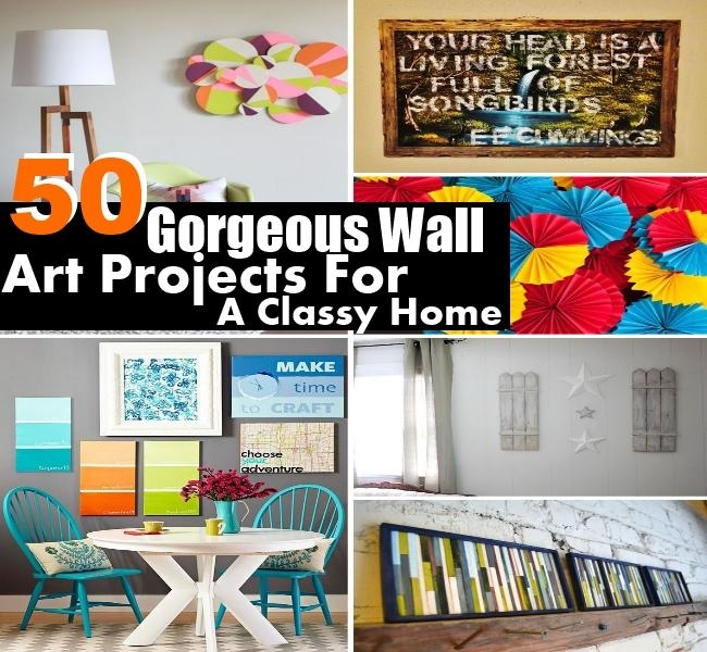 50 Gorgeous Wall Art Projects For A Classy Home | Diy Home Things Intended For Classy Wall Art (View 6 of 20)