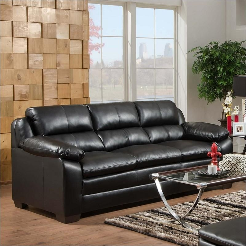 5066 Soho Bonded Leather Sofasimmons Upholstery And Casegoods Intended For Simmons Bonded Leather Sofas (Image 1 of 20)