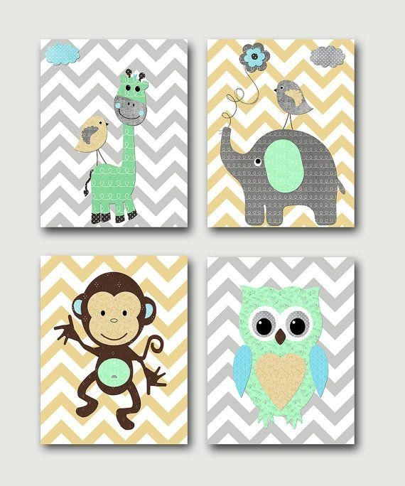 51 Best Etsy Inspiration Images On Pinterest | Baby Wall Art Throughout Etsy Childrens Wall Art (Image 3 of 20)