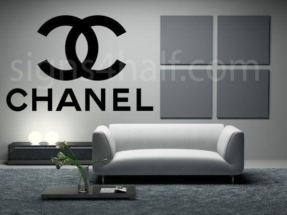 52 Best Channel Images On Pinterest | Coco Chanel, Chanel Decor Intended For Coco Chanel Wall Decals (Image 4 of 20)