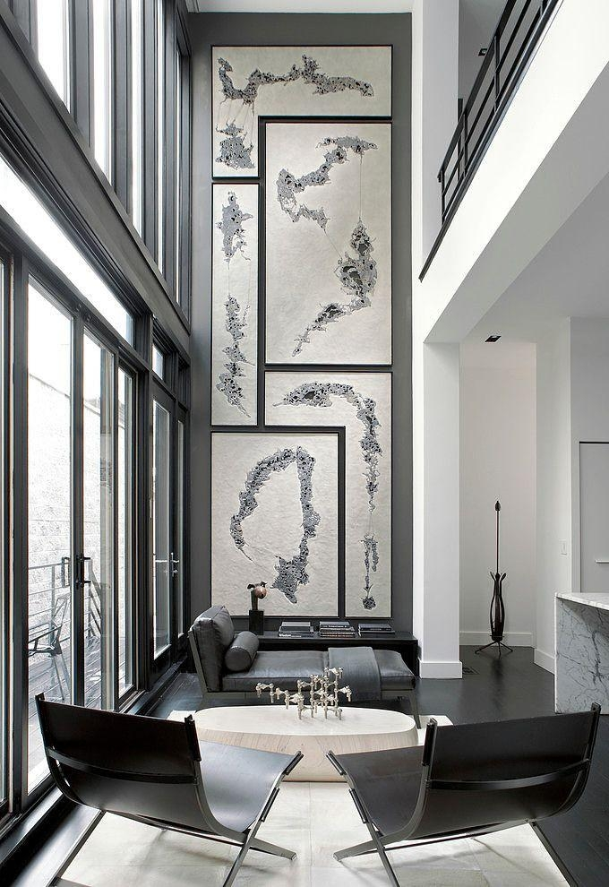 526 Best Wall Art Gallery Images On Pinterest | Gallery Walls With Regard To Tall Wall Art Decor (Image 1 of 20)