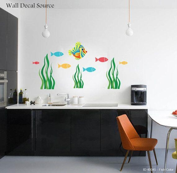 53 Best Ocean Wall Decals Images On Pinterest | Under The Sea For Fish Decals For Bathroom (View 15 of 20)
