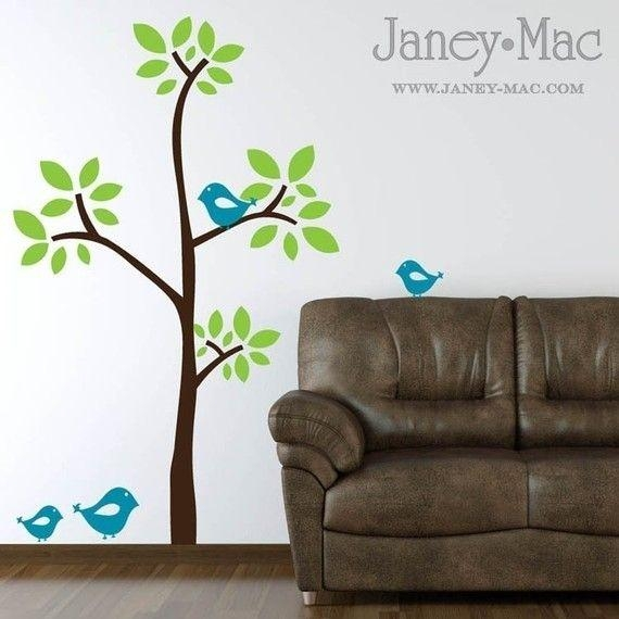53 Best Wall Stickers Images On Pinterest | Wall Stickers, Kids Within Modern Vinyl Wall Art (Image 1 of 20)