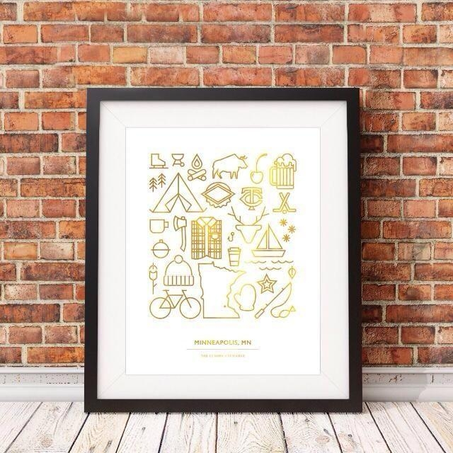 55 Best Handmade In Mn Images On Pinterest | Minnesota, Seals And Within Minneapolis Wall Art (Photo 15 of 20)