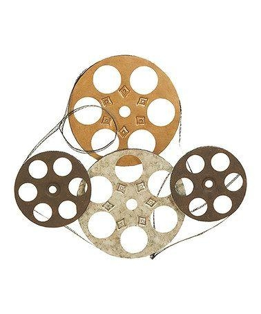 55 Best Movie Reel Upcycled Images On Pinterest | Film Reels Inside Film Reel Wall Art (Photo 9 of 20)