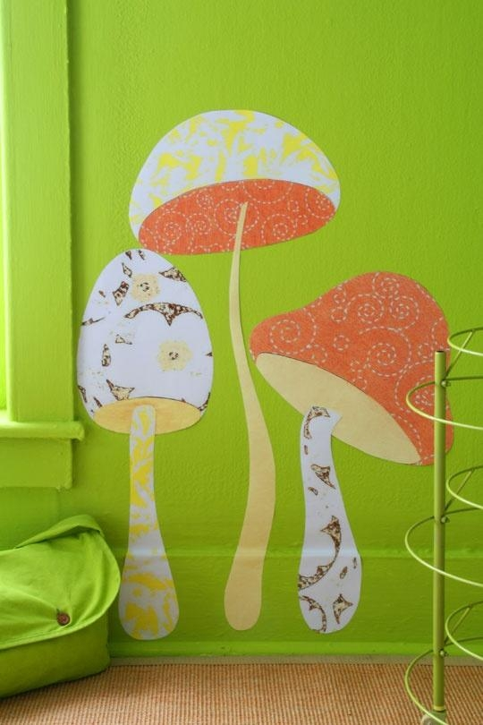 55 Best Mushroom Illustration Inspiration Images On Pinterest With Mushroom Wall Art (Image 3 of 20)