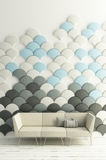 57 Best Acoustical Wall Panels Images On Pinterest | Acoustic Within Modular Wall Art (Image 3 of 20)