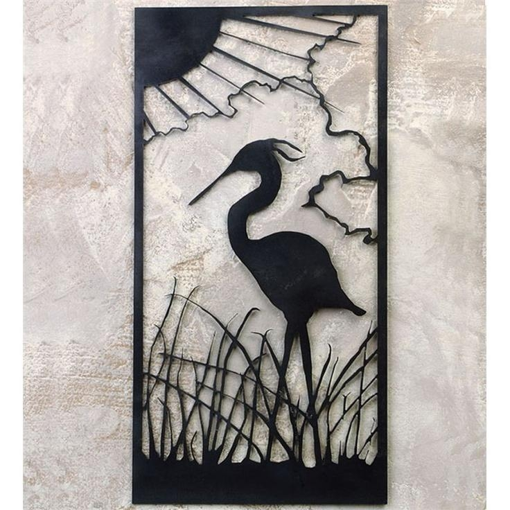 57 Best Metal Outdoor Wall Art Images On Pinterest | Outdoor Wall Within Outdoor Wall Sculpture Art (Photo 8 of 20)