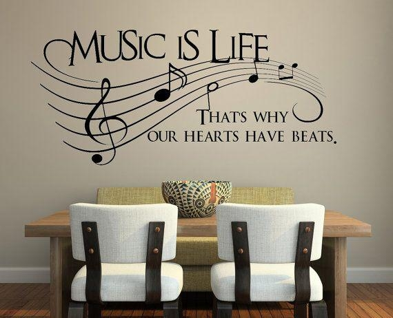 57 Best Music Theme Images On Pinterest | Music, Paintings And Pertaining To Music Theme Wall Art (View 6 of 20)