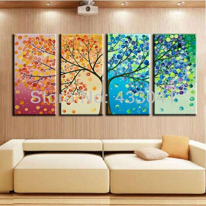 57 Best Wall Art Arrangements Images On Pinterest | Paintings With Regard To Seasonal Wall Art (Image 6 of 20)