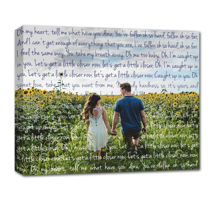 582 Best Canvas Art Using Your Photos And Words. Images On Within Custom Canvas Art With Words (Photo 8 of 20)